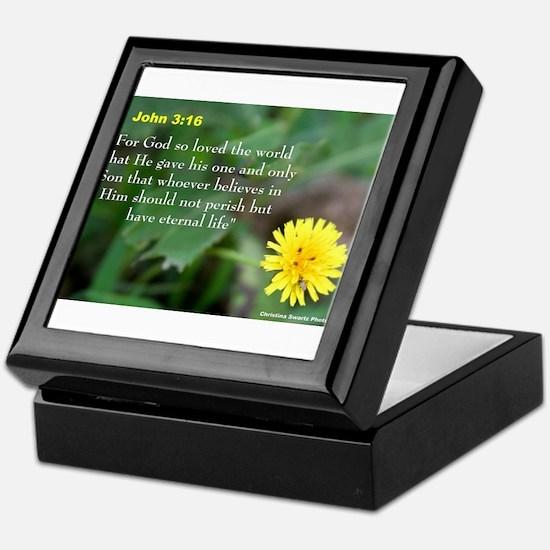 John 3:26 Dandelion Keepsake Box