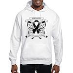 Survivor Strength Melanoma Hooded Sweatshirt