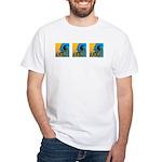 3 Waves: White T-Shirt