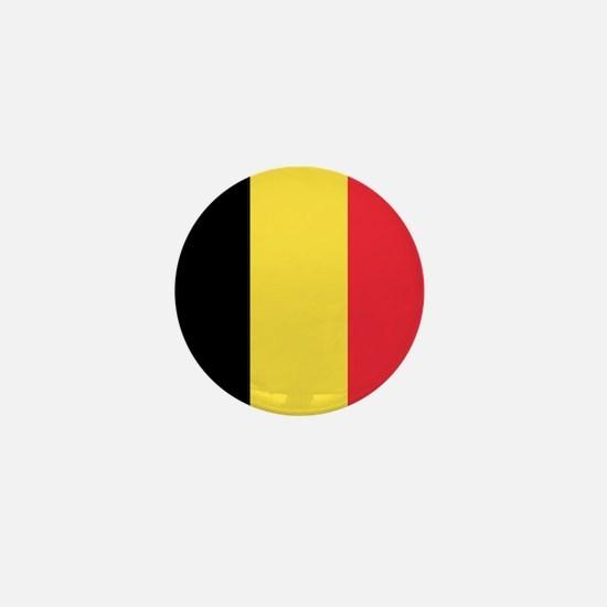 Belgium - National Flag - Current Mini Button