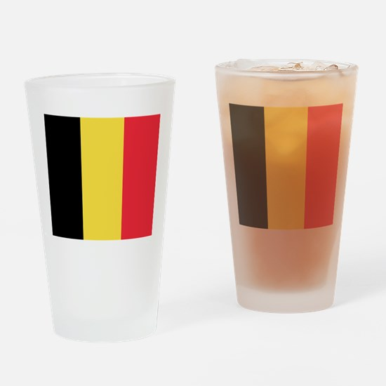 Belgium - National Flag - Current Drinking Glass