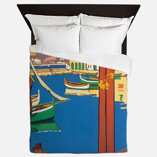 Paris Lyon Queen Duvet