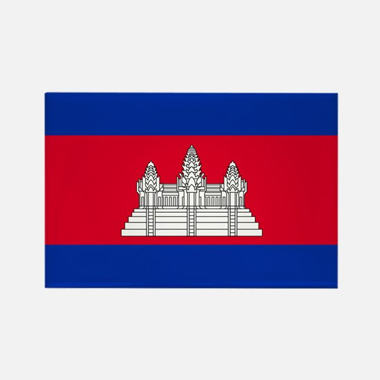 Cambodia - National Flag - Current Magnets