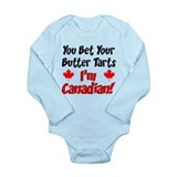 Canadian newborn Long Sleeves Bodysuits