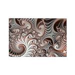 Fractal Swirls Rectangle Magnet