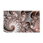 Fractal Swirls 35x21 Wall Decal