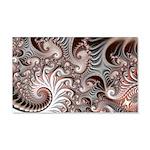 Fractal Swirls 20x12 Wall Decal