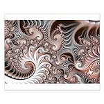 Fractal Swirls Small Poster