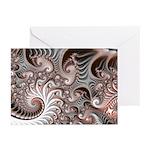 Fractal Swirls Greeting Cards (Pk of 10)