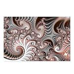 Fractal Swirls Postcards (Package of 8)