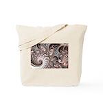 Fractal Swirls Tote Bag