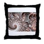 Fractal Swirls Throw Pillow