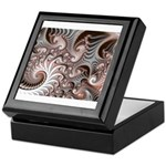 Fractal Swirls Keepsake Box