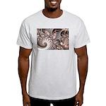 Fractal Swirls Light T-Shirt