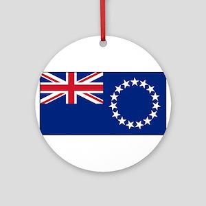 Cook Islands - National Flag - Current Round Ornam