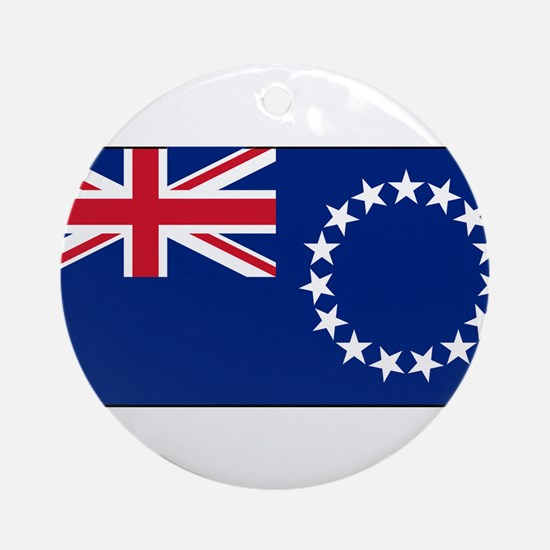 Cook Islands - National Flag - Current Round Ornam