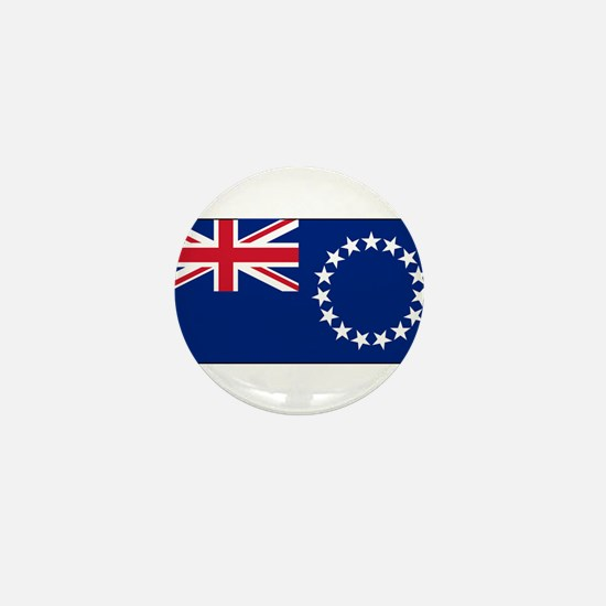 Cook Islands - National Flag - Current Mini Button