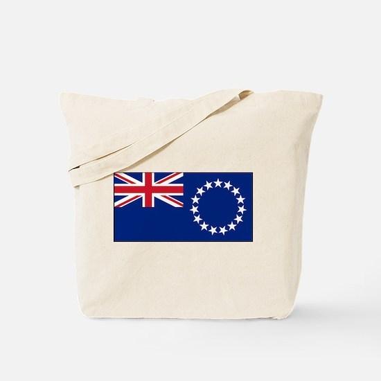 Cook Islands - National Flag - Current Tote Bag
