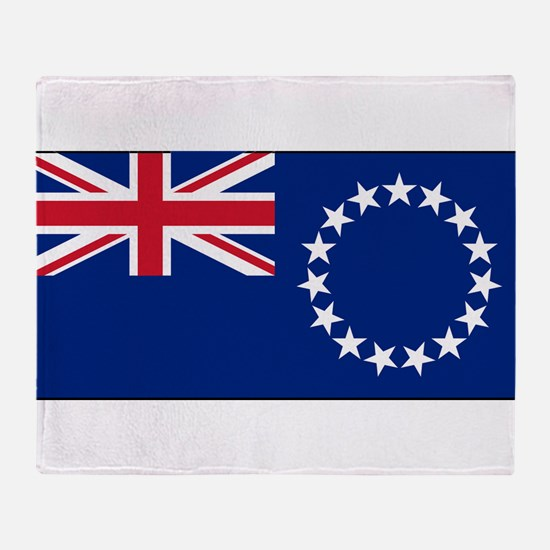 Cook Islands - National Flag - Current Throw Blank
