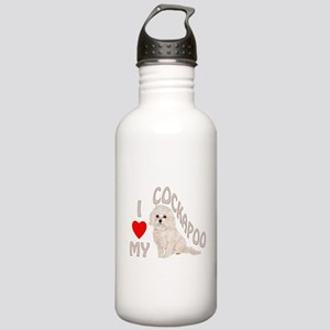 I Love My Cockapoo Stainless Water Bottle 1.0L