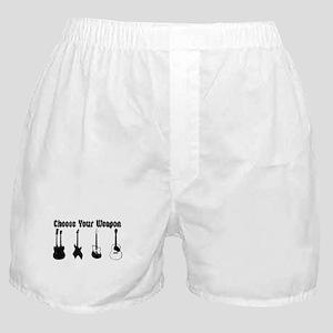 Choose Your Weapon Boxer Shorts