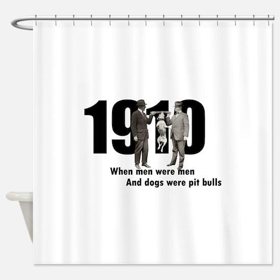 1910 Shower Curtain