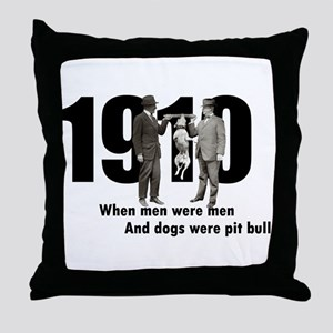 1910 Throw Pillow
