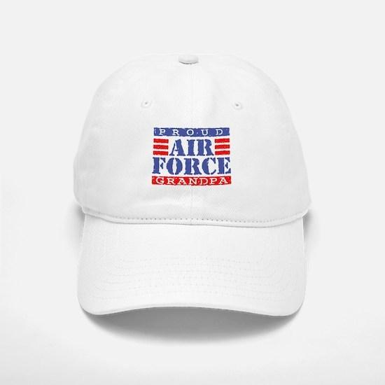 Proud Air Force Grandpa Baseball Baseball Cap