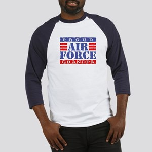 Proud Air Force Grandpa Baseball Jersey