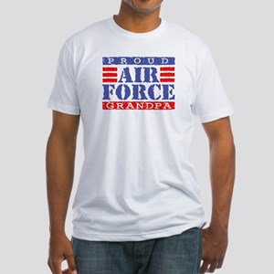 Proud Air Force Grandpa Fitted T-Shirt