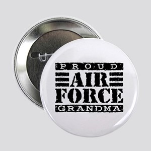 Proud Air Force Grandma Button