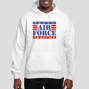 Proud Air Force Grandma Hooded Sweatshirt