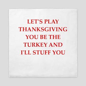 turkey Queen Duvet