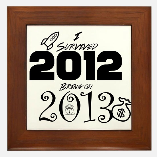 ODCG Happy New Year Framed Tile