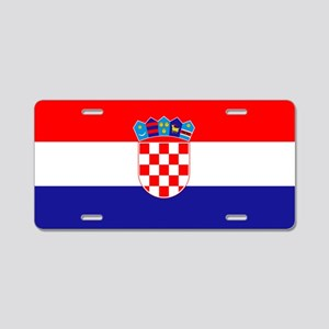 Croatia - National Flag - Current Aluminum License