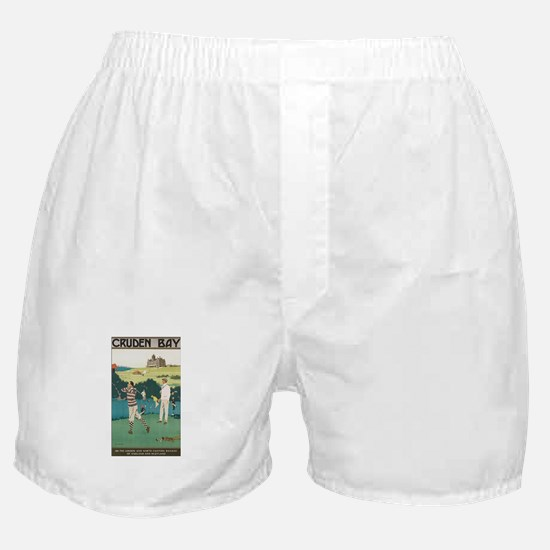 Vintage Golf Ball Boxer Shorts