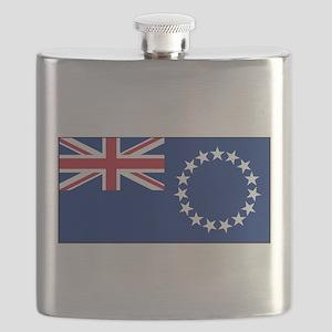 Cook Islands - National Flag - Current Flask