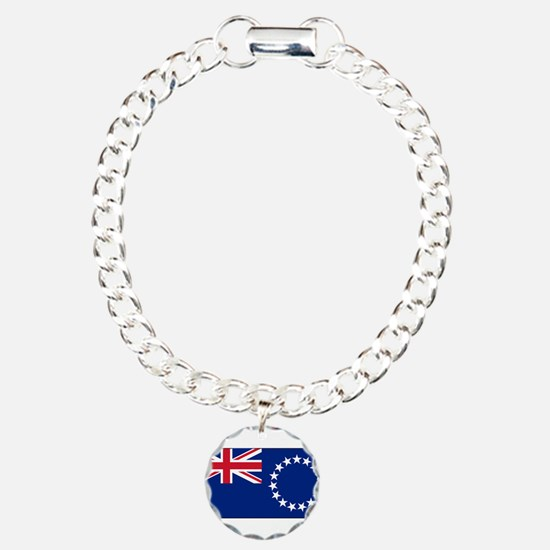 Cook Islands - National Flag - Current Bracelet