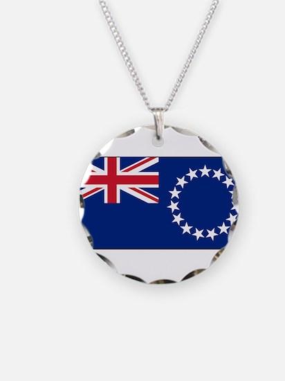 Cook Islands - National Flag - Current Necklace
