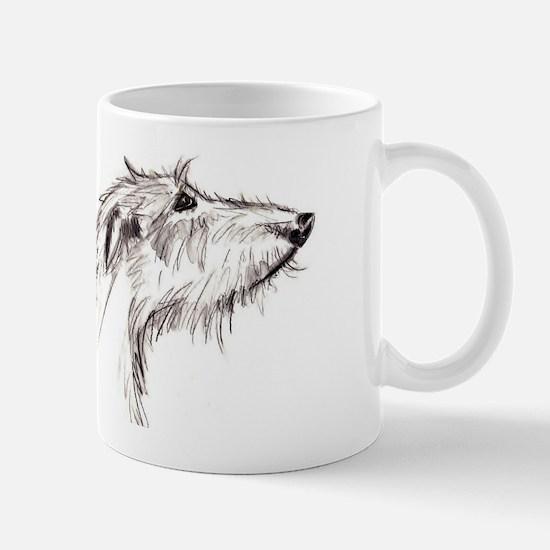 Scruffy Lurcher Mug