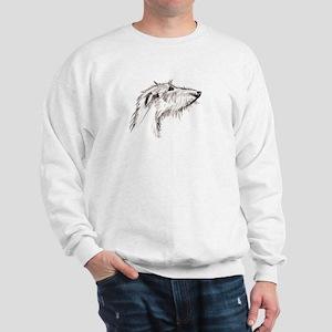 Scruffy Lurcher Sweatshirt