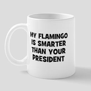 My Flamingo Is Smarter Than Y Mug