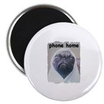 PHONE HOME PUG Magnet
