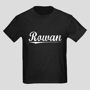 Rowan, Vintage Kids Dark T-Shirt