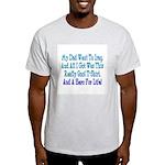 Navy Hero For Life Ash Grey T-Shirt