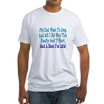 Navy Hero For Life Fitted T-Shirt