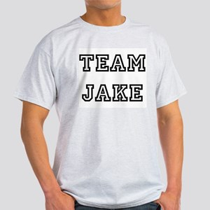 TEAM JAKE Ash Grey T-Shirt