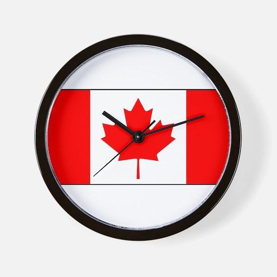 Canada - National Flag - Current Wall Clock