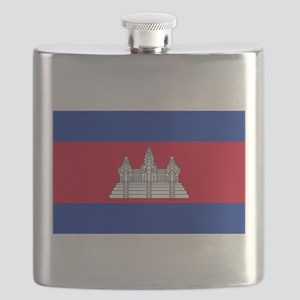 Cambodia - National Flag - Current Flask