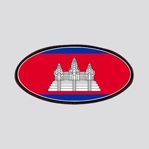 Cambodia - National Flag - Current Patch